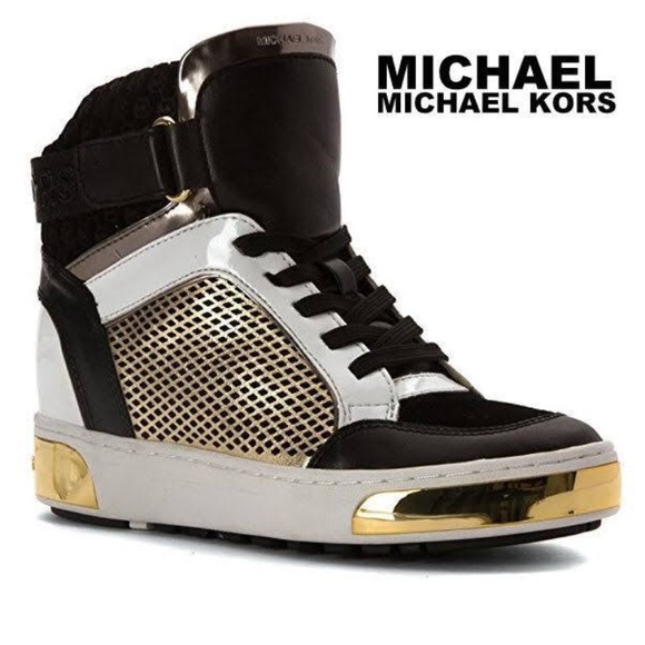 Nib Michael Kors Pia High Top Sneakers